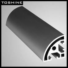 Toshine Brand Powder Coating /Anodized /Wood effect /Polished/Electrophoresis aluminum profile for home use furniture