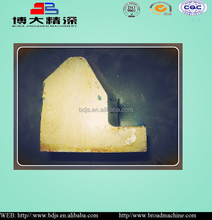 C68C80C100C125 Wedge of metso jaw crusher spare parts