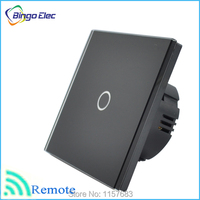 EU/UK touch sensor remote wireless switch