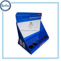 Accept Custom Corrugated Countertop Cardboard Display,Cardboard E-liquid Display Case,PDQ Counter Display