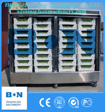 machinery factory supply automatic hydroponic green barley malting equipment