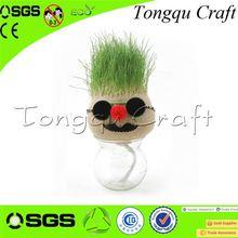 New Product soccer grass artificial Interior Decoration astro turf grass , grass pen holder
