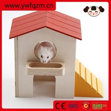 Handmade Wooden hamster toys,wooden hamster cage,hamster wooden house