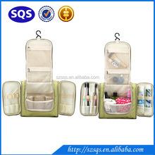 New Arrivel 3 foldable multifunction folding waterproof Travel hanging toiletry bag