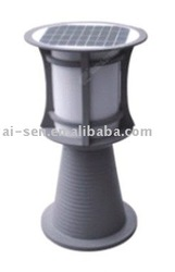 High Power Gray Aluminum Solar Garden Lamp-TWT30317