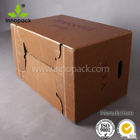Rigid Waterproof Paper Box for Ice Frozen Seafood Food Vegetable