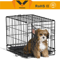 Double doorDog cage , china dog cage, metal dog cage