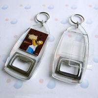 acrylic cheap bulk bottle opener keychain