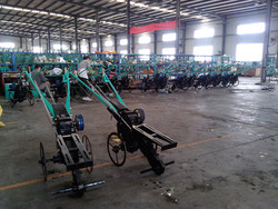 Agricultural Implement Simple To Change The Functions A Good Diesel Engine With Different Rotary Tiller Parts