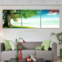 nature tree 3Panels Huge Modern Painting Picture Living Room Wall Hanging Art Decorative Combination Paint Canvas Print