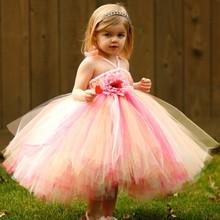 2015 Latest Children Frocks Designs Pretty Kids Party Dress Fairy Princess Dress