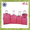 New Design Lady Genuine Leather Woman Pretty Case Match Color Trolley Luggage Set
