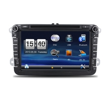 8'' screen car dvd navigation stereo for universal car with gps radio bluetooth dvd usb sd aux in