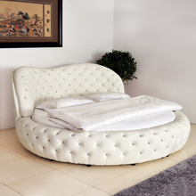 2015 Europe style diffrent color circular bed