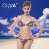 Olgak 2016 Fashion Newest Open Girl Brazil Bikini Swimsuit