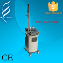 2015 High quality MLA(micro lens array) 1550nm fractional Erbium Glass Laser Wrinkle removal