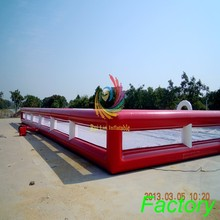 Good design cheap Giant Inflatable Football Pitch For Adults