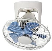 16'' fan blades 18 12v ventilation orbit fan with iron 5 blades 3 plastic blades