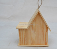 Cheap solid Wooden bird house/cages