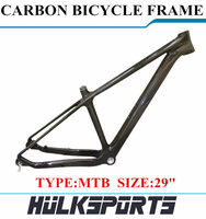 high quality cheap 29ER Carbon MTB bicycle frame carbon mountain bike Carbon frame