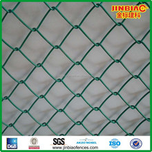 hot pvc coated galvanized chain link fence panels