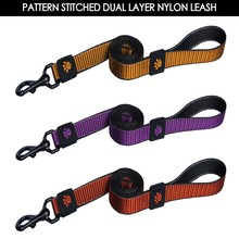 Nylon Leash with Stitched Pattern, Lead Harness for Pet