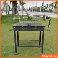 Good Quality Charcoal BBQ Grill Electric Chicken Grill with Motor