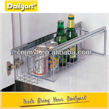 Stainless steel Pull out Kitchen Cabinet Plate Holders