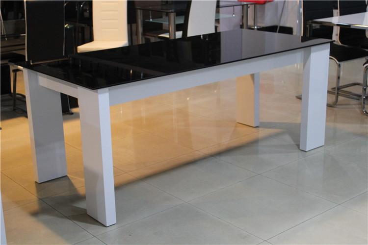 High End Modern Dining Table With Glass Top White High  : HTB1fdCJFXXXXbXpXXq6xXFXXXt from alibaba.com size 750 x 500 jpeg 99kB