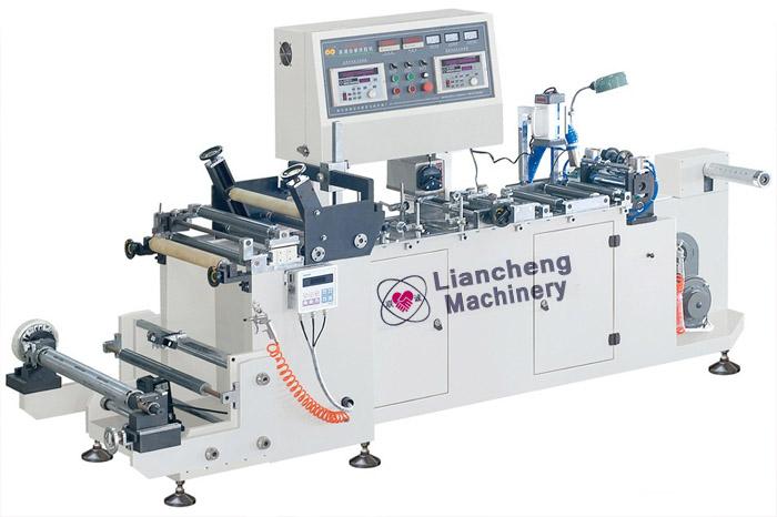 Liancheng New shrink sleeve label machine/label cutting machine/price label machine