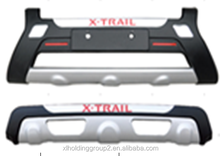 Bumper guards for Nisan X-trail, front and rear bumper guard for Nisan X-trail