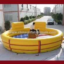 Cheap inflatable mechanical bull for commercial