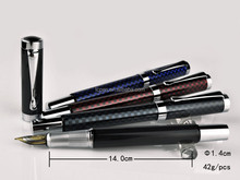 brand blanc fountain pen with laser logo as luxury gift