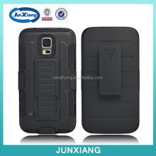 plastic belt clip combo holster phone case manufacturing for samsung galaxy s5 mini
