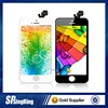 Best hot selling for iphone 5 lcd front glass screen with black and white