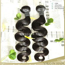 High quality super quality top grade wholesale unprocessed brazilian human hair wet and wavy weave
