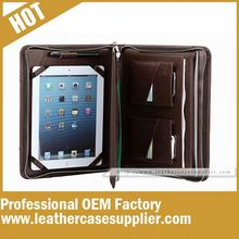 leather compendium for ipad air case factory directly in China