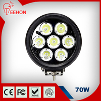 """Teehon Factory 7.5"""" 70W Auto Farm Tractor truck trailer led driving lights 4x4"""