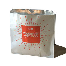 Printed foil bags / carry bag/ food packaging bag for BBQ, barbecue , fried food, kebab and other groceries