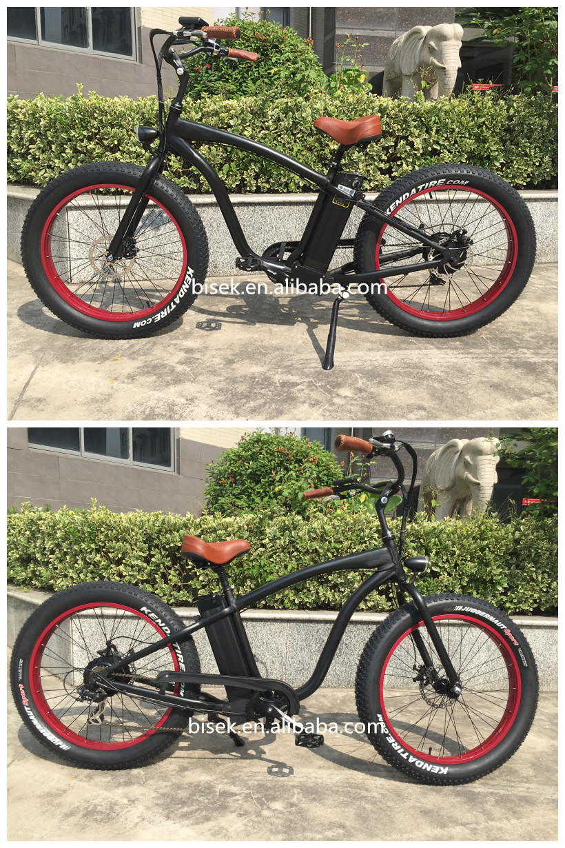 Hummer Snow Fat Tire Electric Bike With 8 Fun Motor