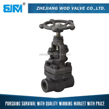 Medium Pressure Stainless Steel Stem Gate Valve Weight, Gate Valve Dimensions