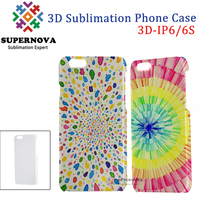 Blank 3D Plastic Cell Phone Case, Custom Cell Phone Cover for iPhone 6/6S, 4.7 inch