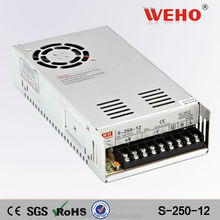CE RoHS approved factory outlet 250 Switch Power Supply High Voltage