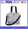 waterproof polyester shoulder manufacture fashion custom printed shoulder bag