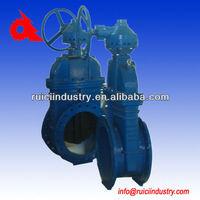 DN500 cast iron stem rising spindle gate valve