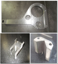 CNC custom printing machine parts