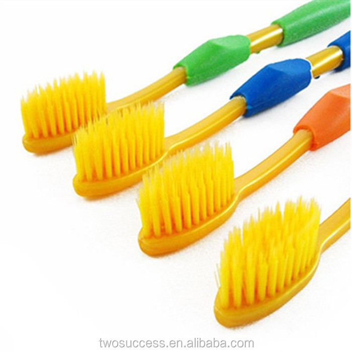 Professional design Double fresh color adult toothbrush