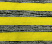 Rayon:18% with spandex and polyester stripe knitting fabric