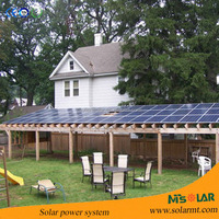 5KW solar panel electricity power system for home use