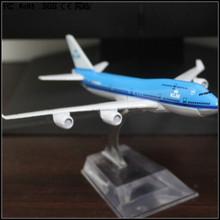 Custom made 1/200 resina KLM Royal Dutch Airlines boeing 747 modelo de avião